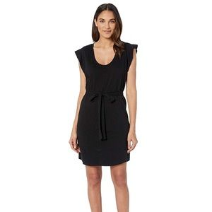 NWT Sanctuary Ruby Belted T-Shirt Dress Black New